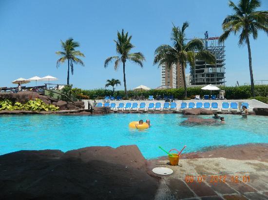 El Cid El Moro Beach Hotel: PICINA VISTA GENERAL