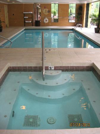 Mardi Gras Casino & Resort : salt water hot tub & pool