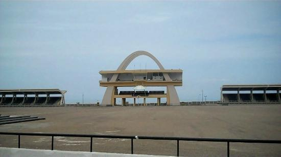 Arch at Independence Square Accra, Ghana