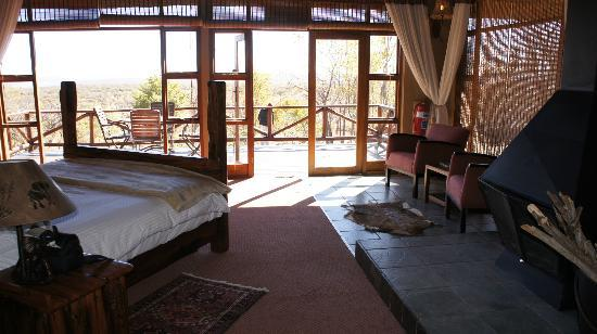 Jamila Game Lodge cc: Elephant suite bedrooms
