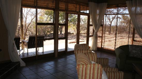 Jamila Game Lodge cc: Elephant suite lounge
