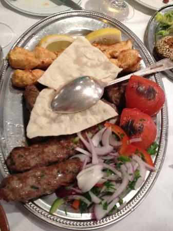 Al Sultan: Mixed Grill