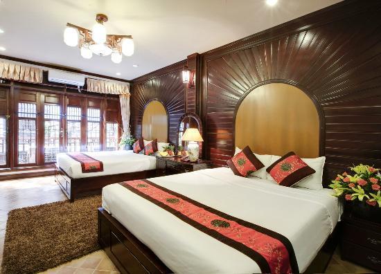 Aquarius Hanoi Hotel : Family Room