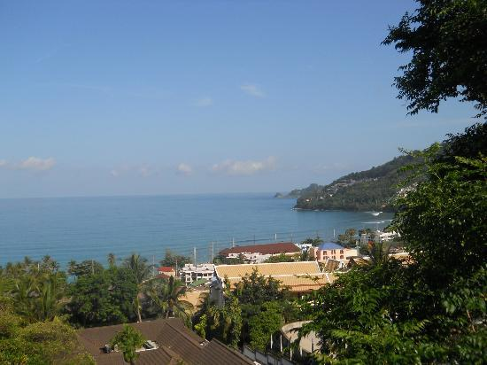 Diamond Cliff Resort and Spa: View from the balcony 