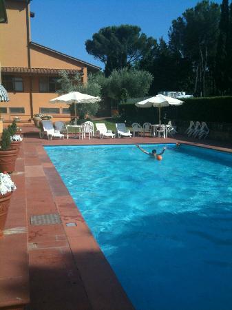 Hotel Hermitage : piscina dell'albergo
