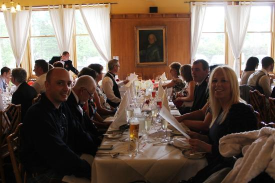 Newtonmore, UK : Wedding Meal