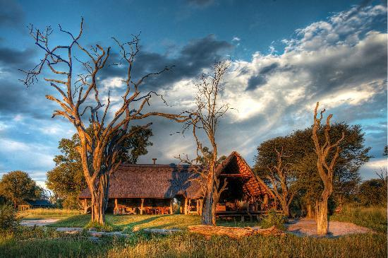 Bomani Tented Lodge: A Stormy Sky
