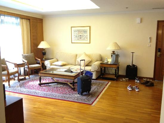 Le Grove Serviced Apartments: Living Area