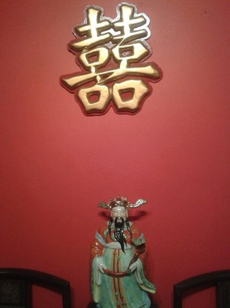 New Loon Fung : Chinese restaurant decoration.