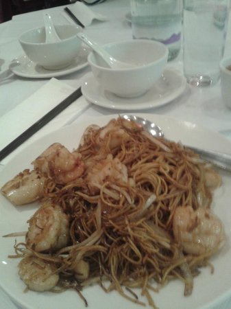 New Loon Fung : Fried Soft Sea food Noodles