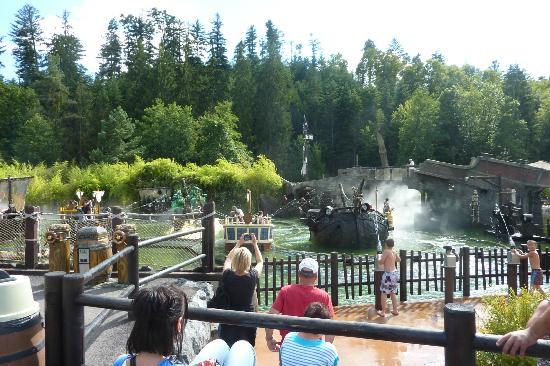 Fraispertuis City : l'attraction des pirates! génial !