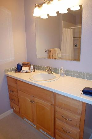 Susitna Place : bathroom katmai room