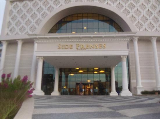 Side Prenses Resort Hotel & Spa: x