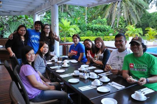 Breakfast with friends for Kr motors port moresby
