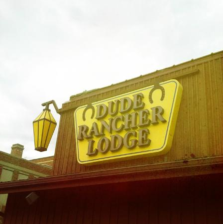 Dude Rancher Lodge: Funky Signage