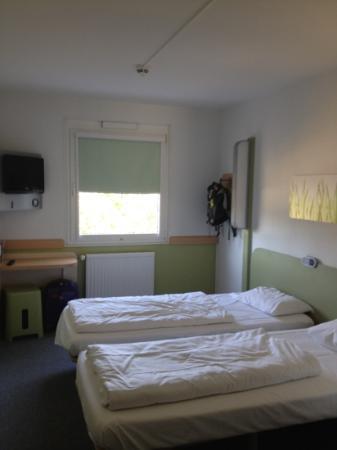 Ibis Budget Freiburg Sud : Twin-Bett Zimmer