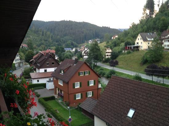 Flair Hotel Sonnenhof : View from top floor.