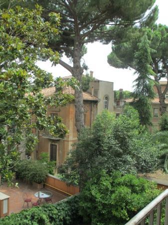Hotel Villa San Pio: balcony view