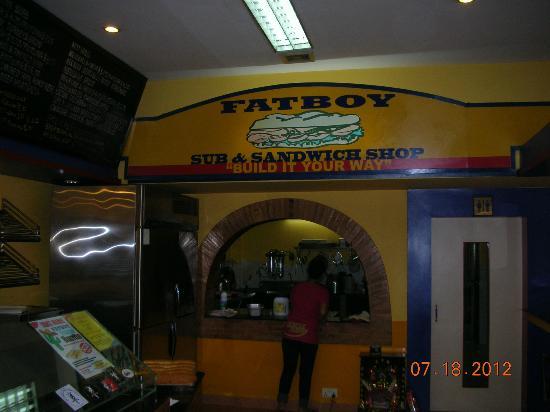 Fatboy Sub & Sandwich: Fatboy facade