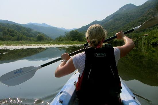 Kayak Montenegro: Kayaking around Lake Skadar, Montenegro