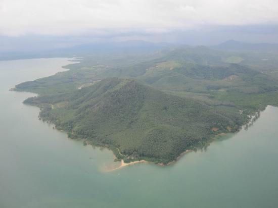 Impiana Private Villas Kata Noi: View from the plane