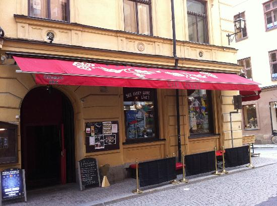 The Liffey Irish pub: The Liffey Irish Bar & Restaurant Stockholm