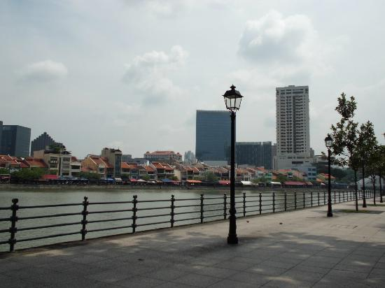 Stamford Raffles Palace: シンガポール川