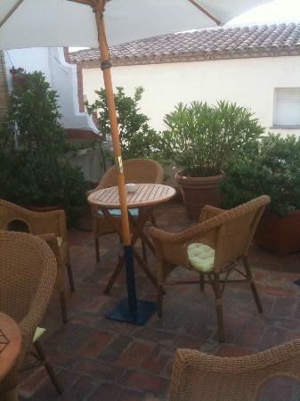 Hotel La Goleta: Terraza comunitaria