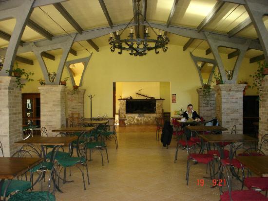 Poggio delle Civitelle Agriturismo: sala colazione