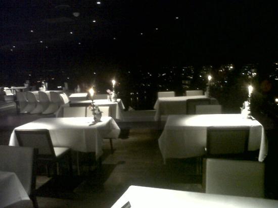 candle-lit restaurant - foto van euromast tower, rotterdam - tripadvisor
