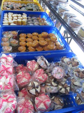 Pasar  Ubud: cakes