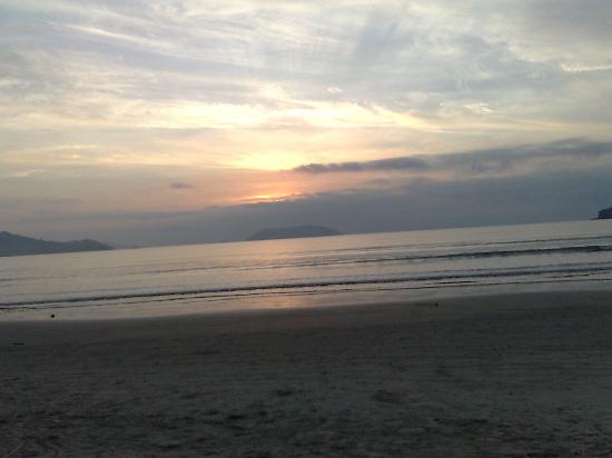 Maranduba Beach: por do sol maravilhoso
