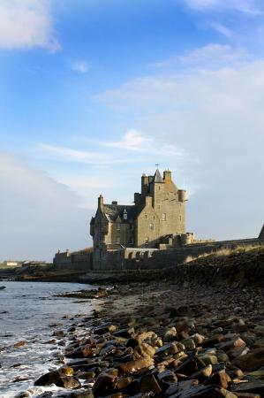 Ackergill Tower: A view from the beach