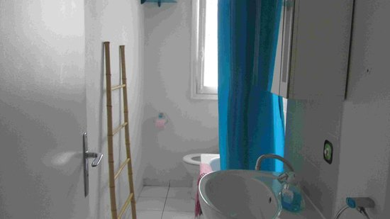 Appartement d'hotes Folie Mericourt: bathroom
