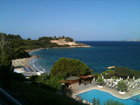 Mediterranee Hotel: The view from our room