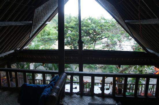 Topi Inn: View from the loft