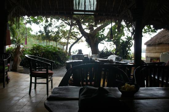 Topi Inn: View from the restaurant