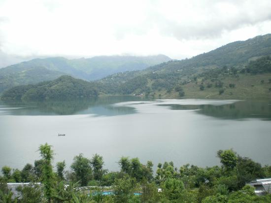 Begnas Lake Resort: View from the restaurant