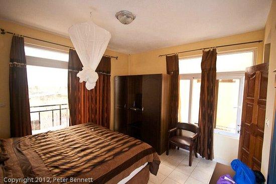 Kwetu Residence Inn: A view of my bedroom