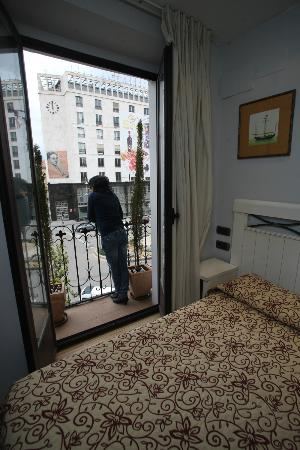 Hostal Centro: Vista desde la habitación