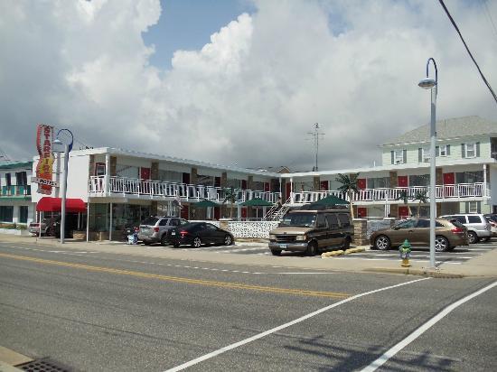 Starfire Motel: Motel vue de Ocean Ave.