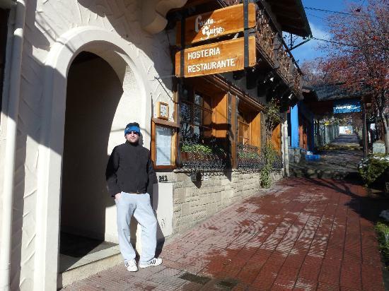 Hosteria La Casita: Fachada del hotel