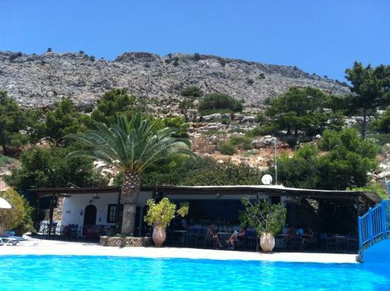 Karpathios Studios: pool bar