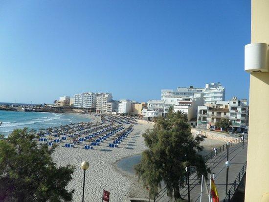 Hotel Peymar: view from balcony