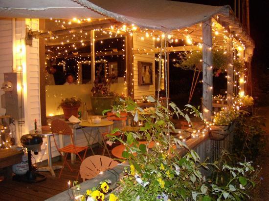 La jolie terrasse du Francine Bistro
