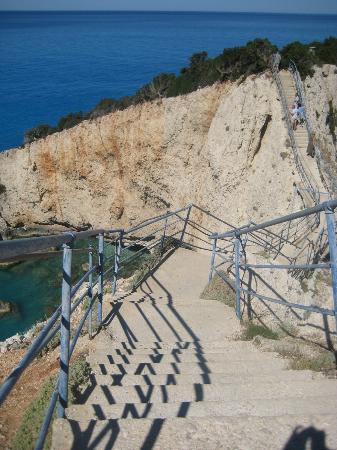 Porto Katsiki: Adventuresome descent...but well worth it!