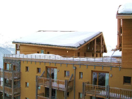 Résidence Les Cristallines : vue de la facade sud