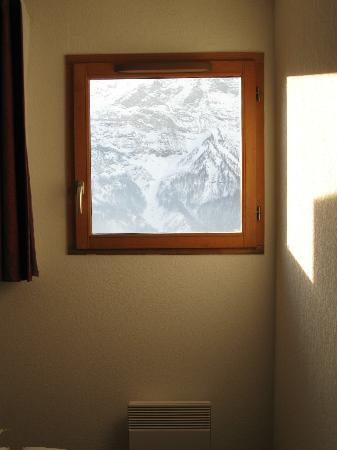 Résidence Les Cristallines : vue de la chambre