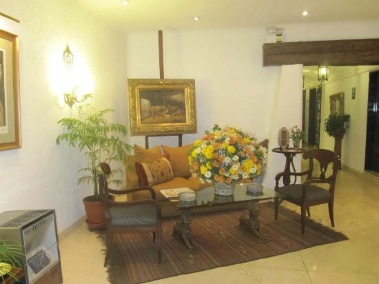 Antara Hotel: zona de recepción