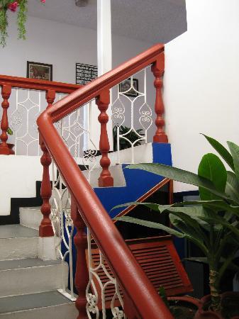 Hotel Casa Blanca: scalinata